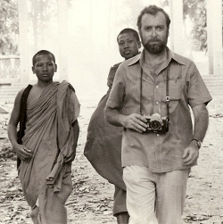 Sydney Schanberg at Veal Sbau, Cambodia, August 6, 1973