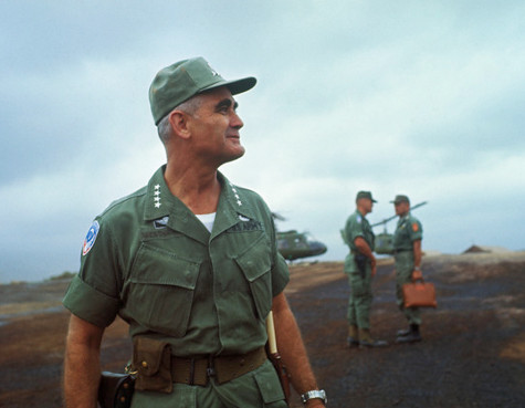 Gen. William Westmoreland, Chief of Forces in Vietnam. Photo utexas.edu