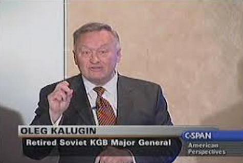 Retired Soviet KGB Major General Oleg Kalugin