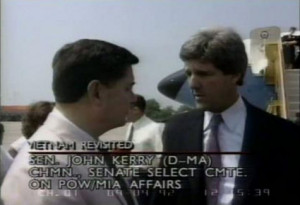 Sen. John Kerry on 1992 Senate Committee trip to Vietnam