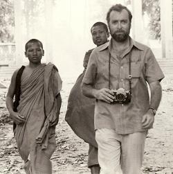 Sydney Schanberg at Veal Sbau, Cambodia, August 6, 1973