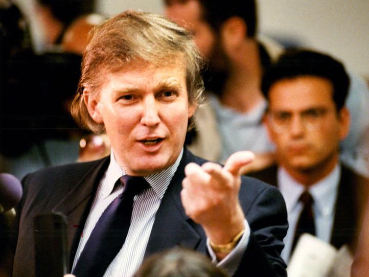 Donald Trump, 1985 - Press of Atlantic City via Beyond the Killing Fields
