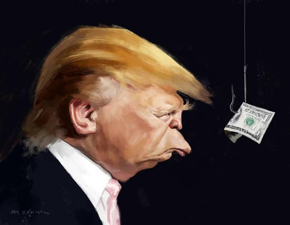 Donald Trump caricature - Magnusson/McClatchy-Tribune via Beyond the Killing Fields